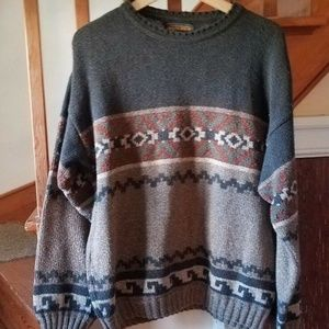 Vintage Woolrich Brown Sweater Size Large